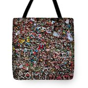 Seattle Gum Wall Tote Bag