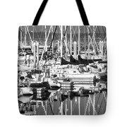 Seattle Marina Tote Bag