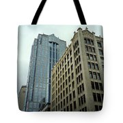 Seattle - Misty Architecture 3 Tote Bag