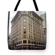 Seattle - Misty Architecture Tote Bag