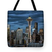 Seattle Night Tote Bag