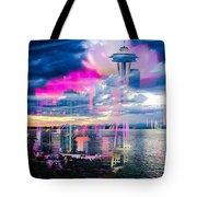 Seattle Rose Tote Bag