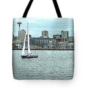 Seattle Sail Tote Bag