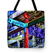 Seattle Sights Tote Bag