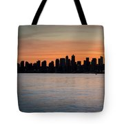 Seattle Silhouette Tote Bag