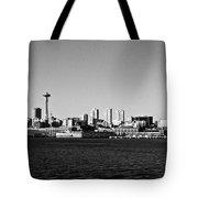 Seattle Skyline #2 Tote Bag