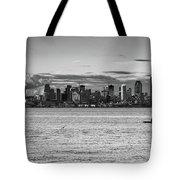 Seattle Skyline 3 Tote Bag