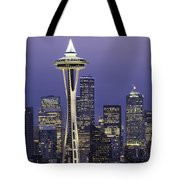 Seattle Space Needle 0200 Tote Bag