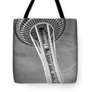 Seattle Space Needle Bw Tote Bag