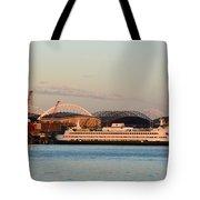 Seattle Stadiums Tote Bag