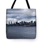 Seattle Sun Breaks Tote Bag