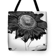 Seattle Sunflower Bw Invert - Stronger Tote Bag