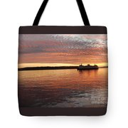 Seattle Sunset Tote Bag