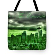 Seattle Washington - The Emerald City Tote Bag