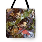 Seaweed And Pebbles Tote Bag