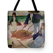 Seaweed Gatherers Tote Bag