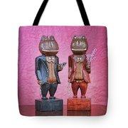 Sebastian And Ichabod Tote Bag