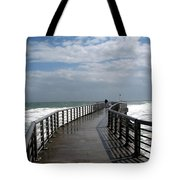 Sebastian Inlet On The Atlantic Coast Of Florida Tote Bag