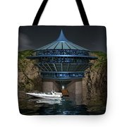 Secluded Condo On The Water Tote Bag