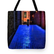 Secluded Patio Tote Bag