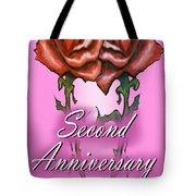 Second Anniversary Tote Bag