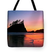 Second Beach Sunset Tote Bag