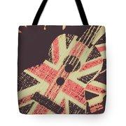Second British Invasion Tote Bag