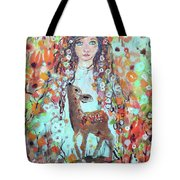 Second Chakra  Angel A Supernova Who Grew Up To Be Stardust Tote Bag
