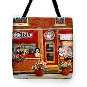 Second Cup Coffee Shop Tote Bag