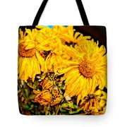 Flowers - Second Life Tote Bag