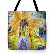 Second Line Nola _ Painted Tote Bag