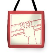Second Station- Jesus Is Made To Carry His Cross Tote Bag
