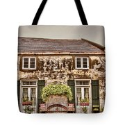 Second Story Cottage Tote Bag
