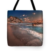 Secret Beach Greece Tote Bag