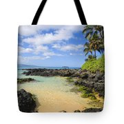 Secret Beach Tote Bag