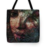 Secret Butterfly Tote Bag