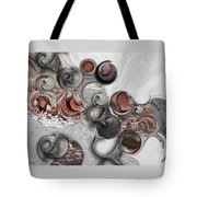 Secret Extracts From Linear Emotion Tote Bag