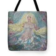 Secret Garden Angel 3 Tote Bag