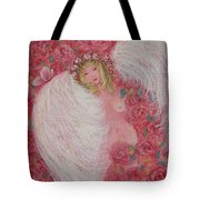 Secret Garden Angel 6 Tote Bag