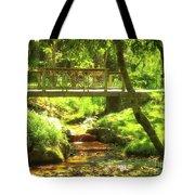 Secret Garden Bridge Tote Bag