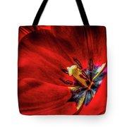 Secret Of The Red Tulip Tote Bag