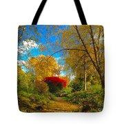Secret Path At Lafayette Park Landscape Tote Bag