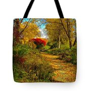Secret Path Fall Perfection  Tote Bag