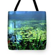 Secret Quiet Pond Tote Bag