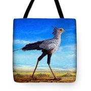 Secretary Bird Tote Bag