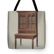 Secretary Desk Tote Bag