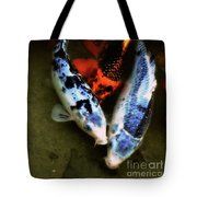 Secrets Of The Wild Koi 10 Tote Bag