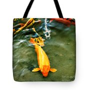Secrets Of The Wild Koi 11 Tote Bag
