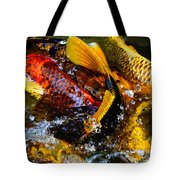 Secrets Of The Wild Koi 2 Tote Bag