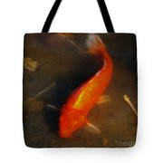 Secrets Of The Wild Koi 5 Tote Bag